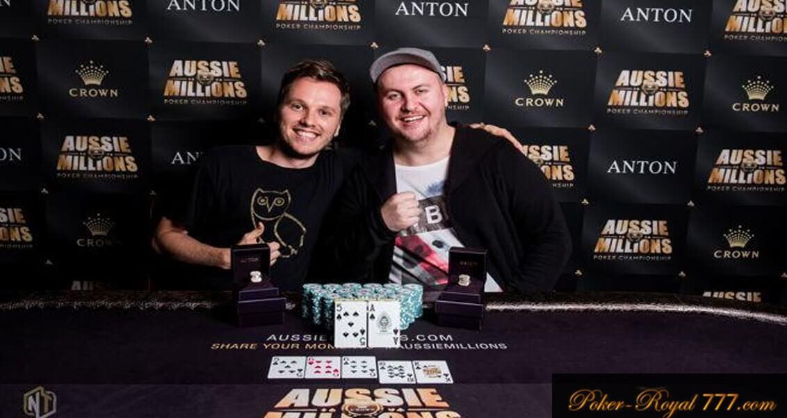 победители Aussie Millions 2018