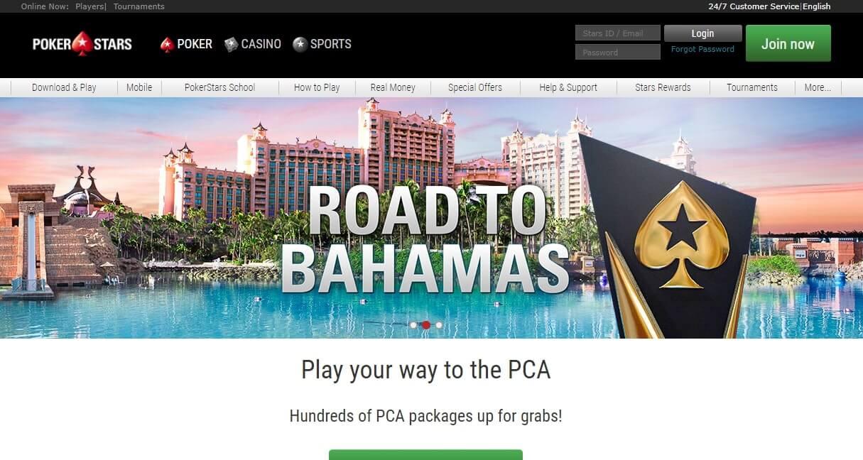 Pokerstars официальный сайт