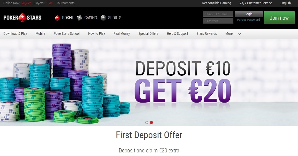 pokerstars.es сайт