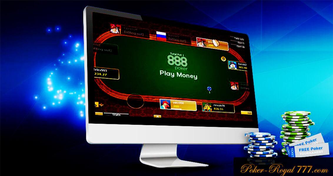 как установить 888 poker