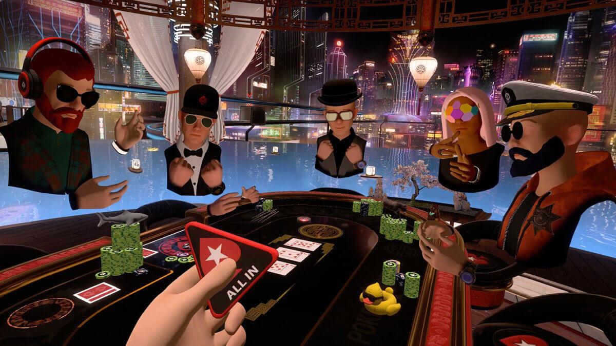 покер в виртуальной реальности от покерстарс