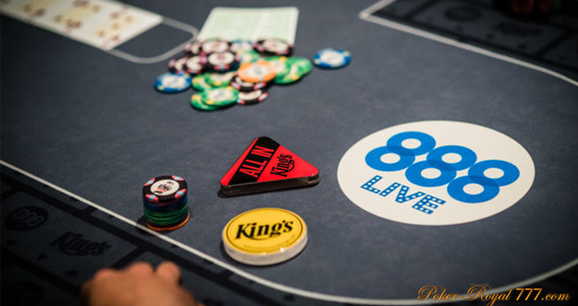 888LIVE: подробности о проекте и живых турнирах