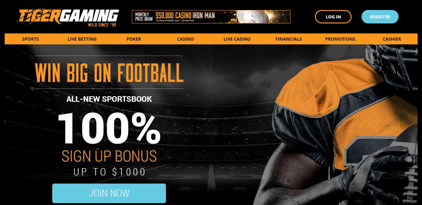 Tigergaming официальный сайт