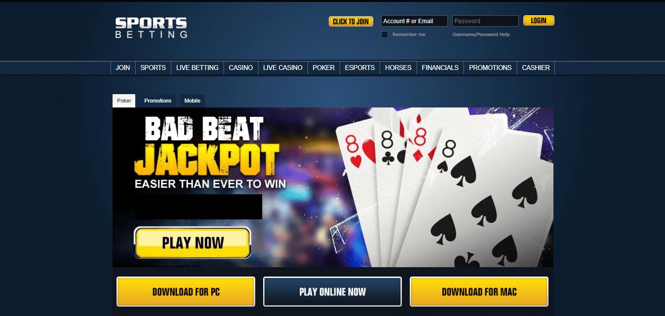 Sports Betting poker сайт
