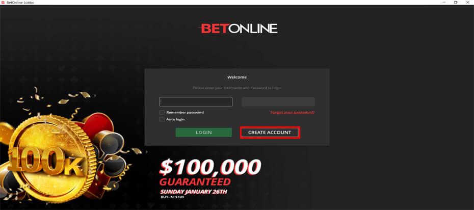 Бет Онлайн регистрация через клиент