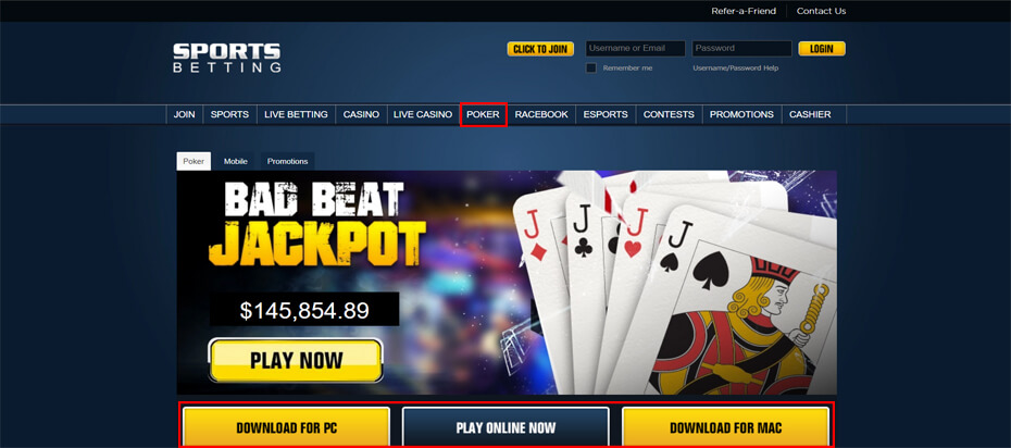 Download Sports Betting Button