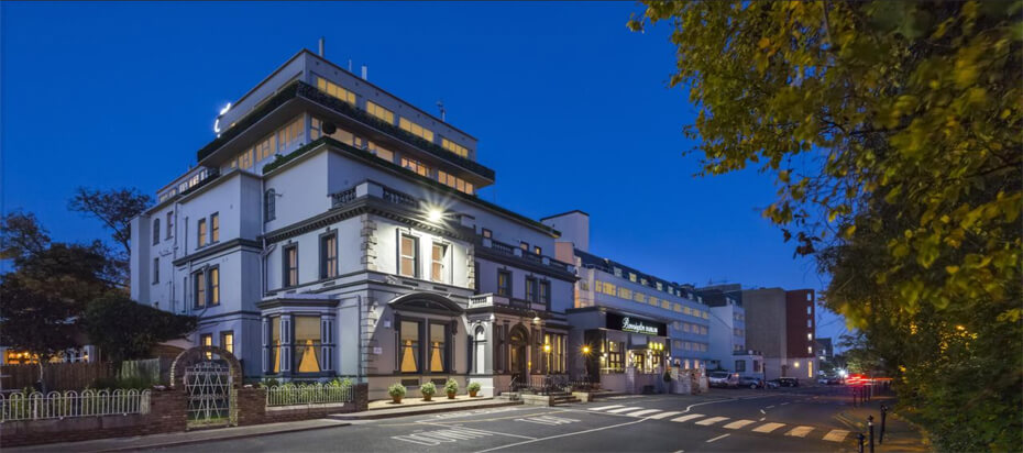 Unibet Open 2020 отель Bonnington