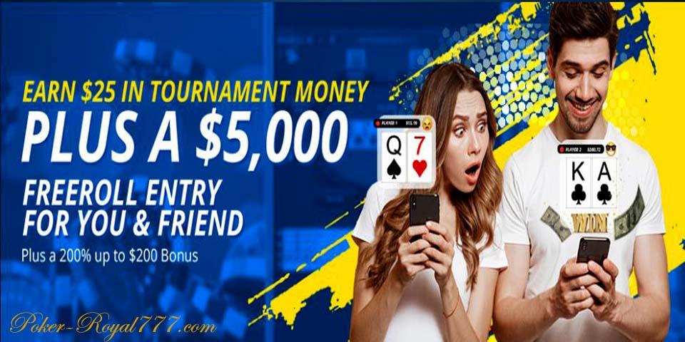 Sportsbetting Poker 25$ за друга