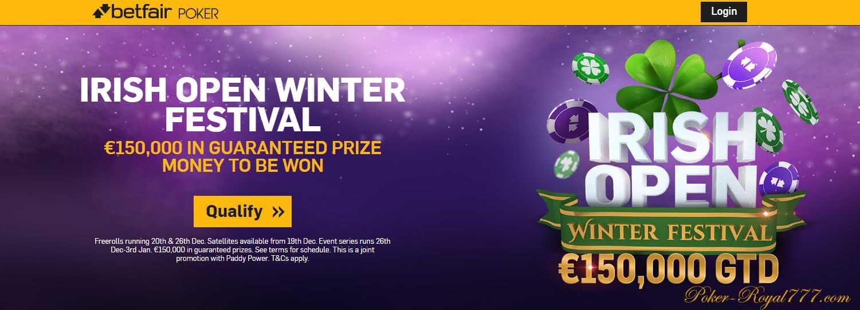 Betfair Irish Open Winter Festival