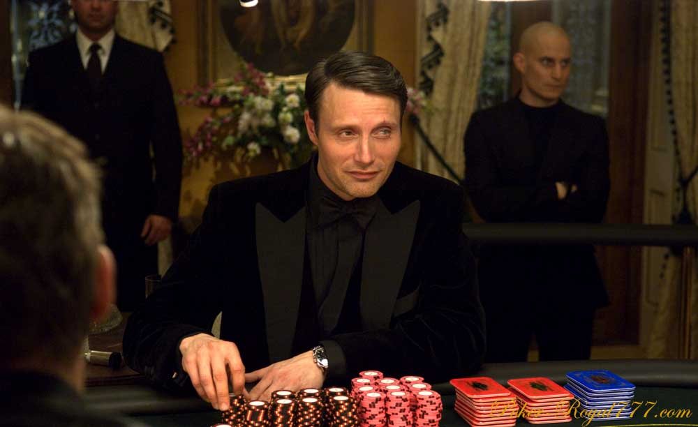 James Bond Poker Hand