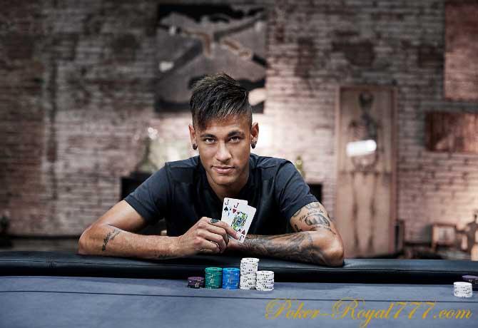 Неймар – новый амбассадор PokerStars