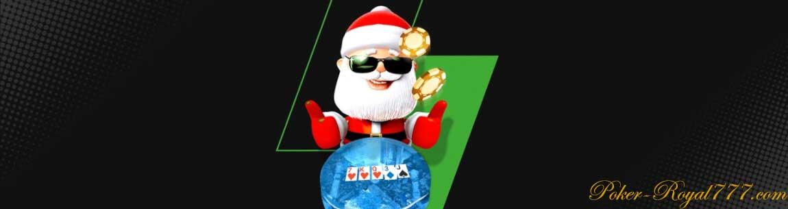 Unibet Poker Santa Flip