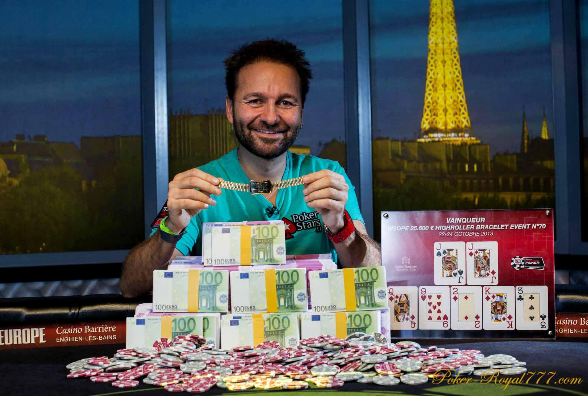 Самые богатые игроки в покер