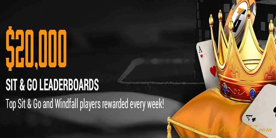 Tigergaming Poker Sit&Go Leaderboards