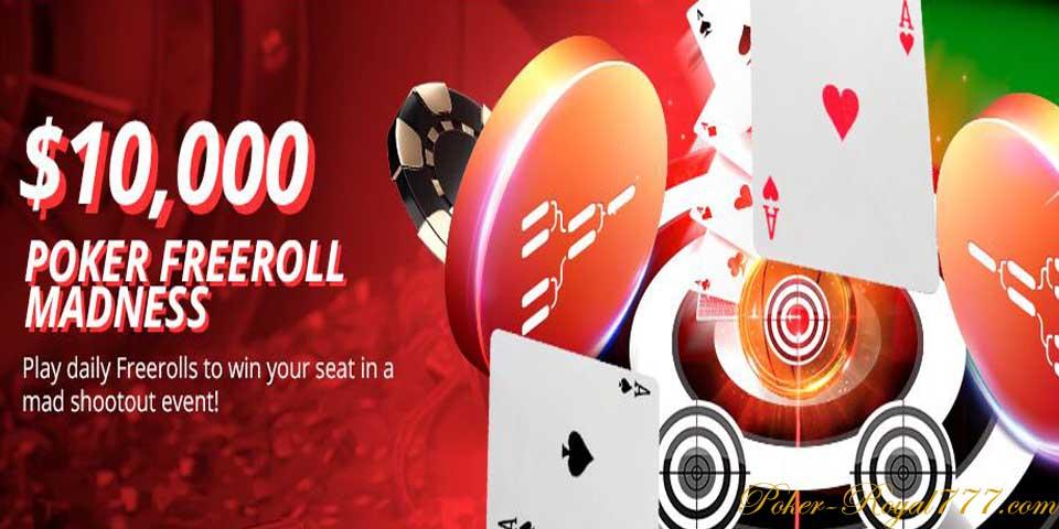 Betonline Poker Freeroll Madness