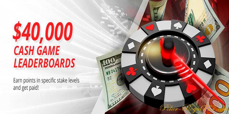 Betonline Cash Game Leaderboards