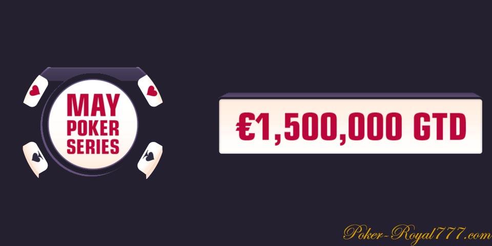 Redstar May Poker Series