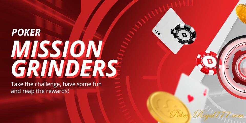 Betonline Poker Mission Grinders