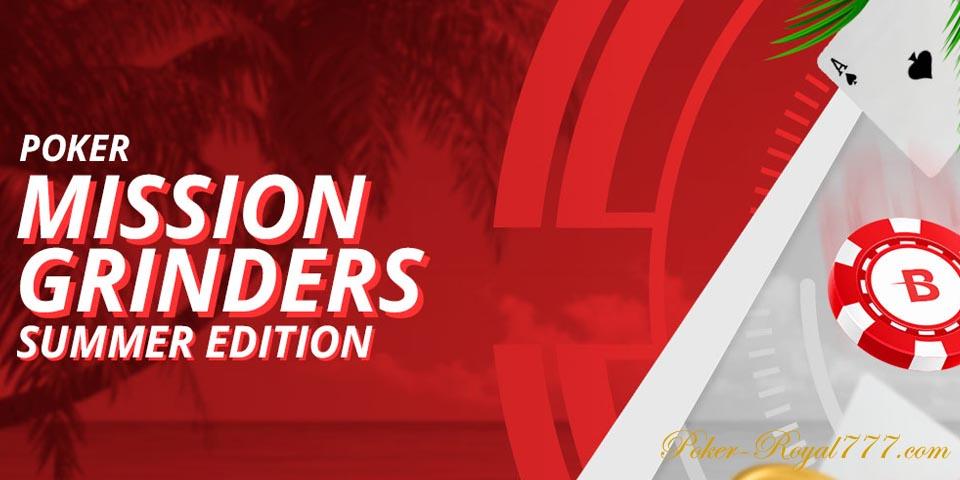 Betonline Poker Mission Grinders Summer Edition