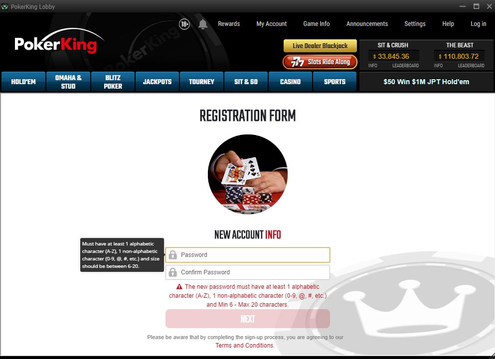 PokerKing promocode step6
