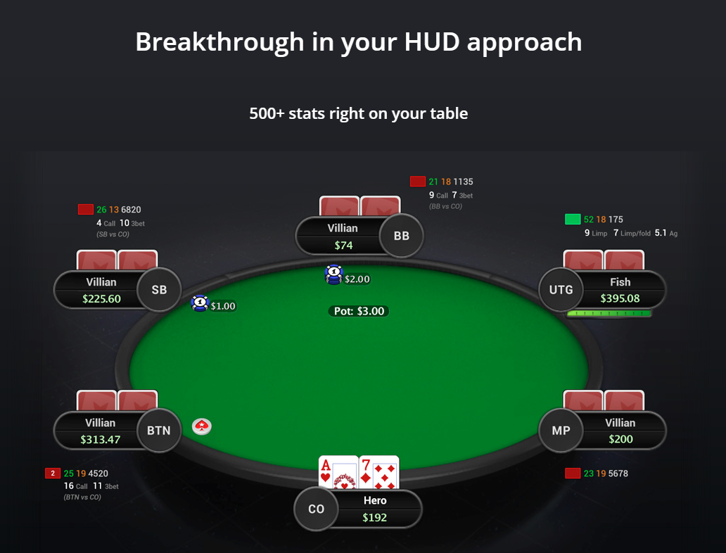 Hand2Note poker software