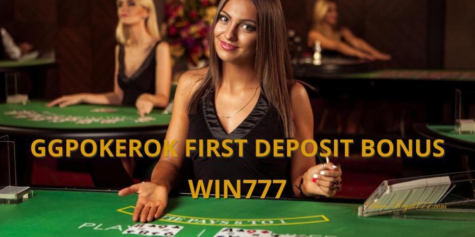GGPokerOk first deposit bonus